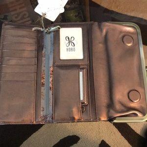 HOBO Bags - Hobo Rachel Burnt Bronze Leather Wallet